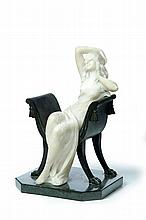 ART DECO FIGURAL SCULPTURE.