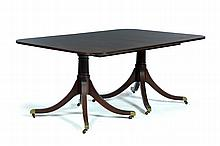 FEDERAL-STYLE DINING TABLE.