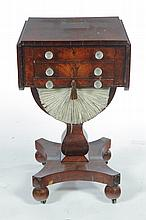 AMERICAN CLASSICAL WORK TABLE.