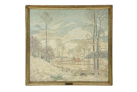 ROBE OF WINTER BY ARTHUR MELTZER (PENNSYLVANIA, 1893-1989).