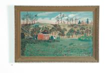 TENNESSEE HOMESTEAD BY IVA BAKER (AMERICAN, EARLY 20TH CENTURY).