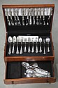 SET OF WALLACE STERLING SILVER FLATWARE.