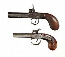 TWO PERCUSSION PISTOLS.