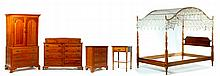 FIVE-PIECE STICKLEY BEDROOM SUITE.