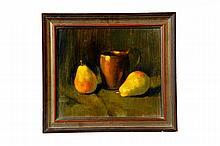 TWO FRAMED STILL LIFES BY ROBERT J. SMITH (OHIO, 1901-1985).