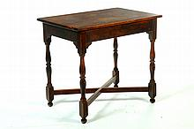 18TH CENTURY-STYLE TAVERN TABLE.