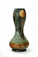 AVON FAIENCE POTTERY VASE.