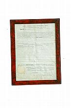 OHIO LAND GRANT TO GENERAL DUNCAN MCARTHUR, SIGNED BY PRESIDENT JAMES MADISON.