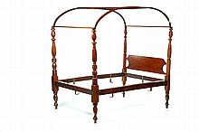 AMERICAN CLASSICAL CANOPY BED.