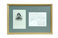 DOCUMENT RELATING TO THE RAISING OF A CADET ATTACHMENT TO THE 60TH ILLINOIS MILITIA REGIMENT BY ELMER ELLSWORTH.