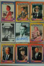 COLLECTION OF AUTOGRAPHS INCLUDING INFO CARDS, PHOTOS, NOTES, AND TRADING CARDS.