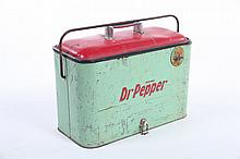 DR. PEPPER PORTABLE COOLER.