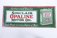 SINCLAIR OIL ADVERTISING SIGN.
