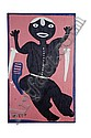 FIGURAL PAINTING BY MOSE TOLLIVER (ALABAMA, 1919-2006)., Mose Tolliver, Click for value