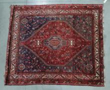 ROOM SIZE ORIENTAL RUG.