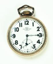 BALL OFFICIAL RAILROAD POCKET WATCH.