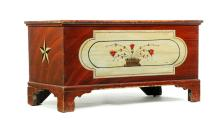 DECORATED PENNSYLVANIA BLANKET CHEST.