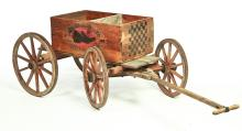 AMERICAN WAGON AND STORE CRATE.