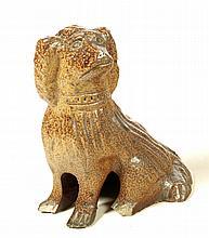 SEWERTILE FLAT HEAD DOG.