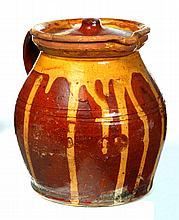 REDWARE PITCHER.
