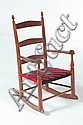 SHAKER CHILD'S ROCKING CHAIR.