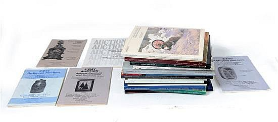 LARGE SELECTION OF AUCTION CATALOGS.