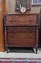 EMPIRE CHEST OF DRAWERS.