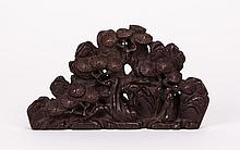 CHINESE WOOD SCHOLAR MINIATURE MOUNTAIN