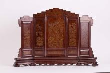 CHINESE ROSEWOOD SCREEN
