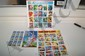 (3) Sheets of Stamps - Super Hero 39 cent; Comic Strip Classics 32 cent & Bugs Bunny 32 cent