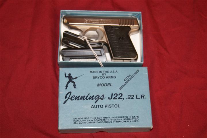 Jennings J22 .22lr