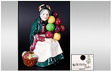 Royal Doulton Early Figure ' The Old Balloon Seller ' HN.1315. Issued 1929-1940. Height 7.5 Inches. Mint Condition.