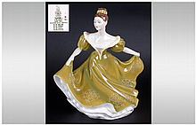 Royal Doulton Figure ' Lynne ' HN.2329. Designer M. Davies. Issued 1971-1996. Height 7 Inches, Mint Condition.