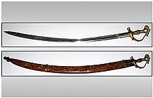 Indian Display Sword and Scabbard