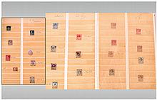 Fine Stamp Collection Ranging From QV-QEll There are eight QV and seven EdVll issues, nine of these are MINT including QV 6d and EdVll 7d. There are some fine GeoV issues, a few GeoVl stamps and a fine selection of QEll. There are def.sets, many g