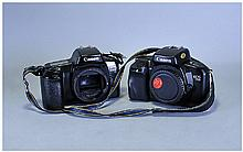 2 Cannon Cameras, EOS 750 And EOS 1000F, Bodies Only, No Lens
