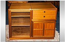 Nathan Master Craftsman  Teak Storage Unit