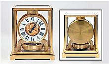 Jaeger-LeCoultre Atmos Clock, With Lacquered Brass