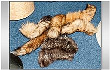 Collection Of Fox Fur including tails & collar
