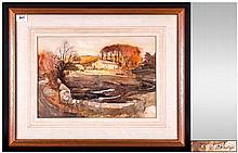 Albert Phillip - Famous Lancaster Artist - Subject ' Farm Holding Near Lanc