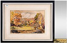 Phyllis Hibbert 1903 - 1971 Still Life ' Ambleside ' Lake District Watercol