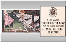 Eleanor Fortescue, Brickdale 1871-1945, Youth &