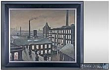 Steven Scholes 1952, Titled 'The Roe Mill, Roof