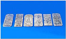Chinese Collection of Modern White Metal Coloured