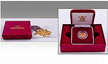 Royal Mint United Kingdom 22ct Gold Proof Half