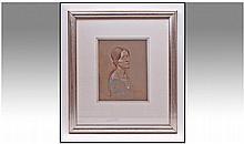 Reginald Robert Tomlinson (1885-1978) Young Woman