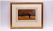 Frank B. Jowett (1879-1943) Figure On A Beach