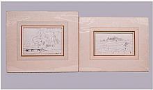 Benjamin Williams Leader RA (1831-1923) Two Pencil