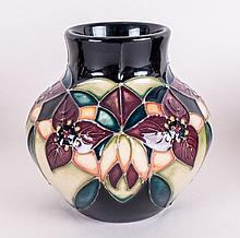 Moorcroft Tubelined Small Globular Shaped Vase 'Tr
