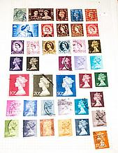 Stamp Stock Book, Mixed Lot Of World Stamps